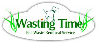 Wasting Time Pet Services Logo